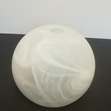 Kugelglas E27 Lampenschirm Ø23cm Lampen Glas Kugel weiß