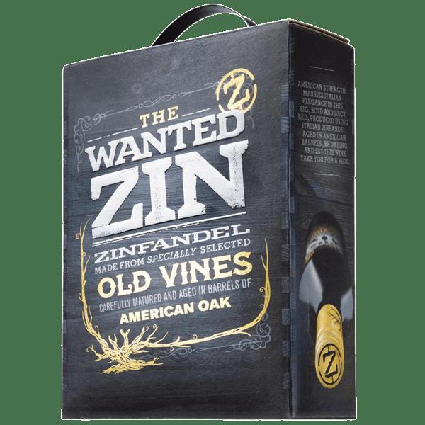 3 Liter The Wanted Zin Zinfandel IGP Puglia Italien