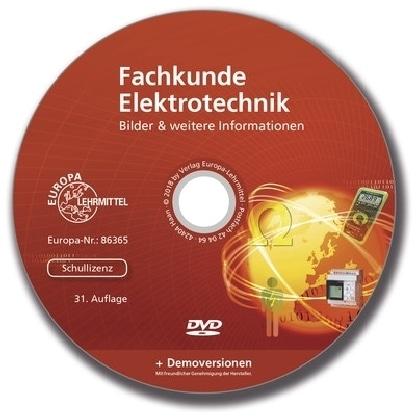 Fachkunde Elektrotechnik, DVD-ROM (Schullizenz)