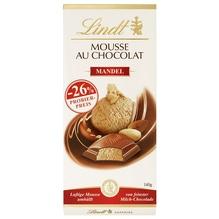 Lindt 'Mousse au Chocolat Mandel' Schokolade (Aktion), 140g