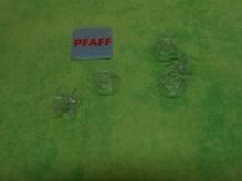 PFAFF-Kunststoffspule klar