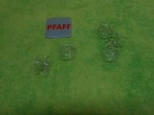 PFAFF-Kunststoffspule klar10 Stück