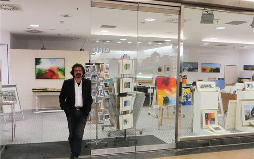 Kunstgalerie Hashemi in der Rathaus-Galerie